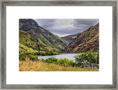 Big Bar View Framed Print by Robert Bales