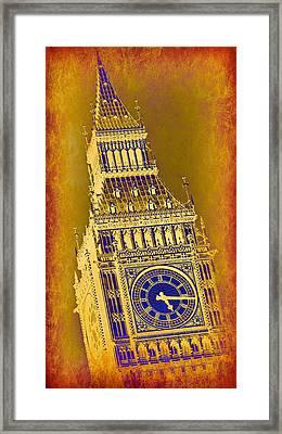 Big Ben 3 Framed Print by Stephen Stookey