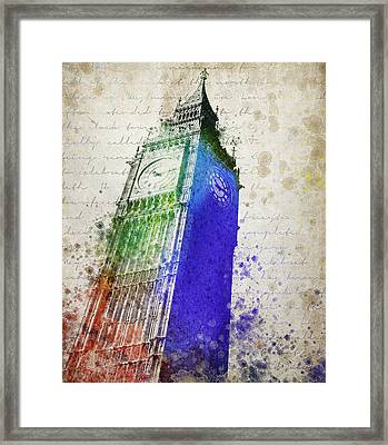 Big Ben Framed Print by Aged Pixel