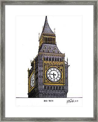 Big Ben Framed Print by Frederic Kohli