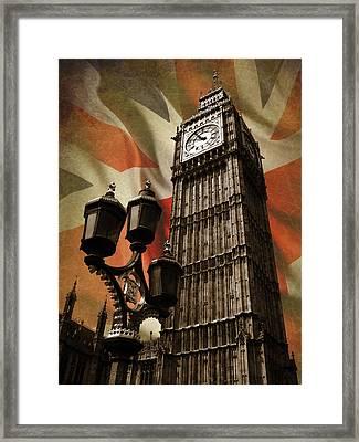 Big Ben London Framed Print by Mark Rogan