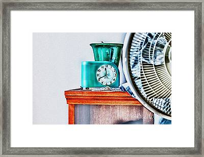 Big Ben Moon Beam Framed Print by Bob Orsillo