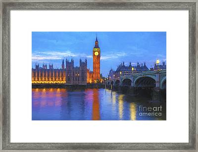 Big Ben Framed Print by Veikko Suikkanen