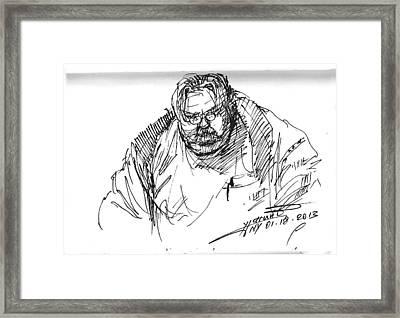 Big Billy Framed Print by Ylli Haruni
