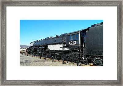Big Boy 4012 Framed Print by Feva  Fotos