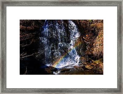 Big Bradley Falls 3 Framed Print by Chris Flees