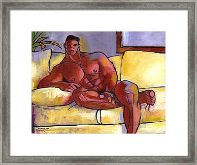 Big Brown Framed Print by Douglas Simonson