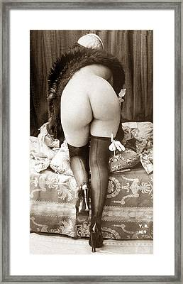 Big Butt Framed Print by Unknown