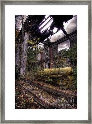 Big Comfy Couch Framed Print by Amy Cicconi