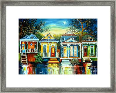 Big Easy Moon Framed Print by Diane Millsap