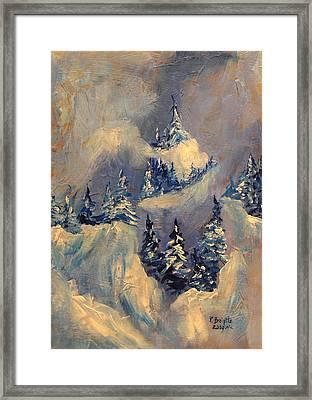 Big Horn Peak Framed Print by Patricia Brintle
