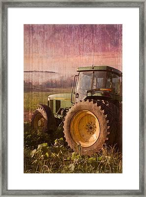 Big John Framed Print by Debra and Dave Vanderlaan