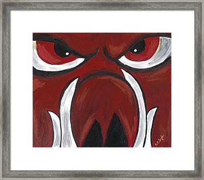Big Red Framed Print by Robin Taylor