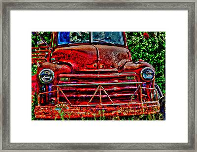 Big Red  Framed Print by Toni Hopper