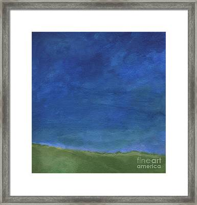 Big Sky Framed Print by Linda Woods