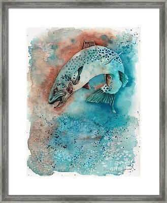 Big Trout Framed Print by Robin Moreng