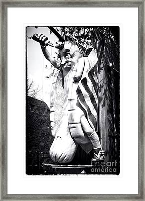 Big Wiener Framed Print by John Rizzuto