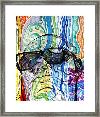 Biggie Framed Print by Aliya Michelle