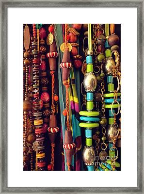 Bijouterie Framed Print by Carlos Caetano