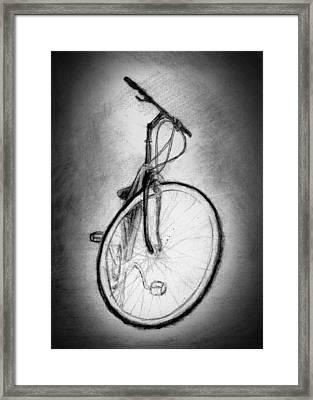 Bike Framed Print by Di Fernandes