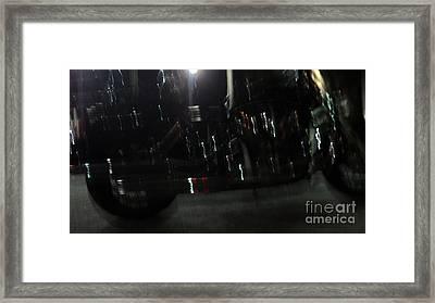 Bike Light Painting Framed Print by Megan Dirsa-DuBois