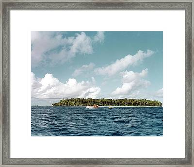 Bikini Atoll Framed Print by Us Department Of Energy