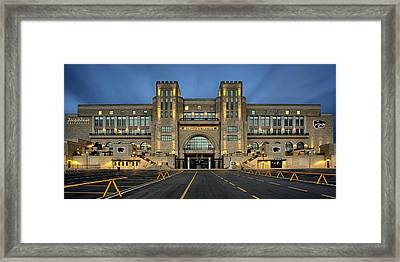 Bill Snyder Family Stadium Framed Print by Thomas Zimmerman