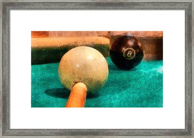 Billiards Room Framed Print by Dan Sproul