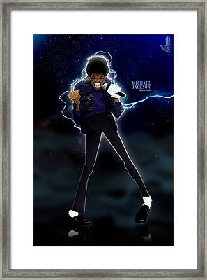 Billie Jean Framed Print by Nelson Dedos Garcia