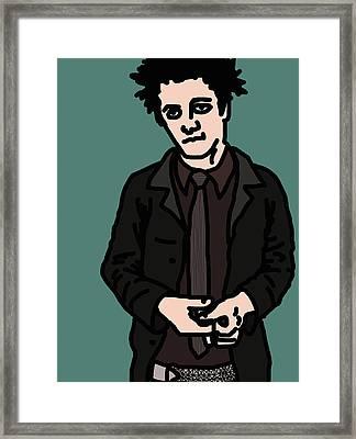 Billie Joe Armstrong Framed Print by Jera Sky