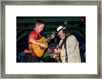 Billy Strings  And Don Julan Framed Print by Bill Gallagher