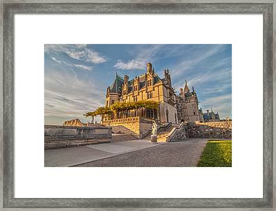 Biltmore Sunset Framed Print by Donnie Smith