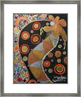 Biological Rhythms.. Framed Print by Jolanta Anna Karolska