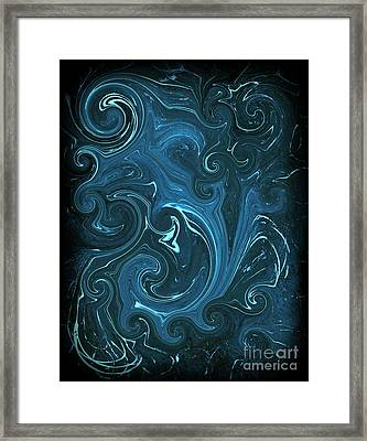 Bioluminescence Framed Print by Michael Grubb
