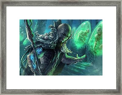 Biovisionary Framed Print by Ryan Barger