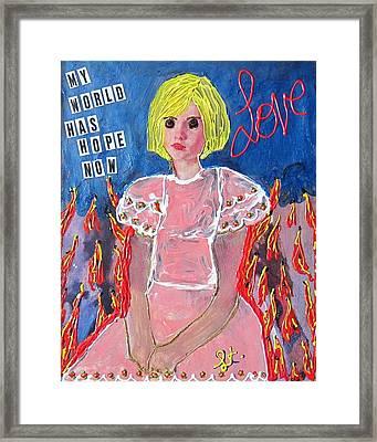 Bipolar Framed Print by Lisa Piper Menkin Stegeman