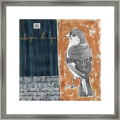 Bird 18 Framed Print by Marco Sivieri