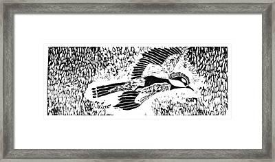 Bird Framed Print by Keiskamma art project