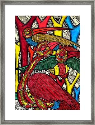 Bird Life Framed Print by Muktair Oladoja