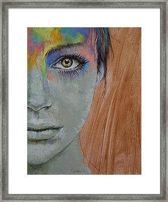 Bird Of Paradise Framed Print by Michael Creese