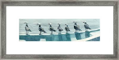 Bird Watchers Framed Print by Faythe Mills