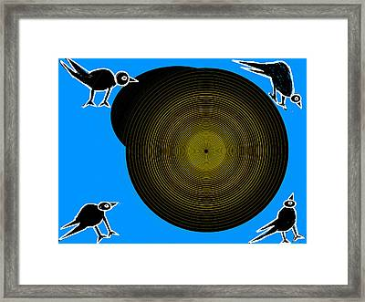 Birds New World Framed Print by Anand Swaroop Manchiraju