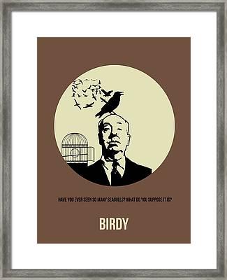 Birds Poster 1 Framed Print by Naxart Studio