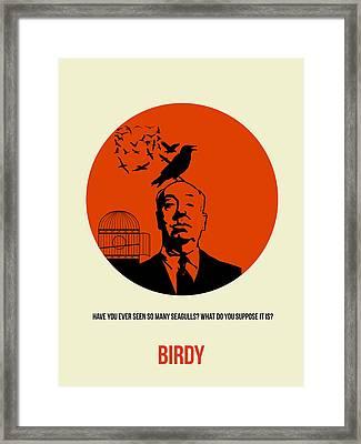 Birds Poster 2 Framed Print by Naxart Studio