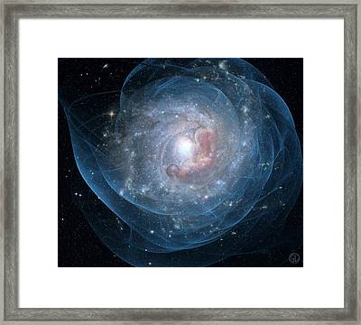 Birth Of A Galaxy Framed Print by Gun Legler