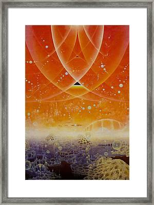 Liman Delta  Framed Print by Carina Earl