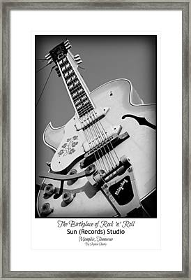 Birthplace Of Rock N Roll Framed Print by Stephen Stookey