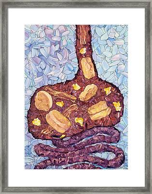 Biscuit Basket Framed Print by James W Johnson