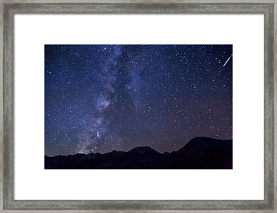 Bishop At Night Framed Print by Cat Connor