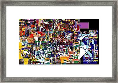 Bitachon 4  Framed Print by David Baruch Wolk